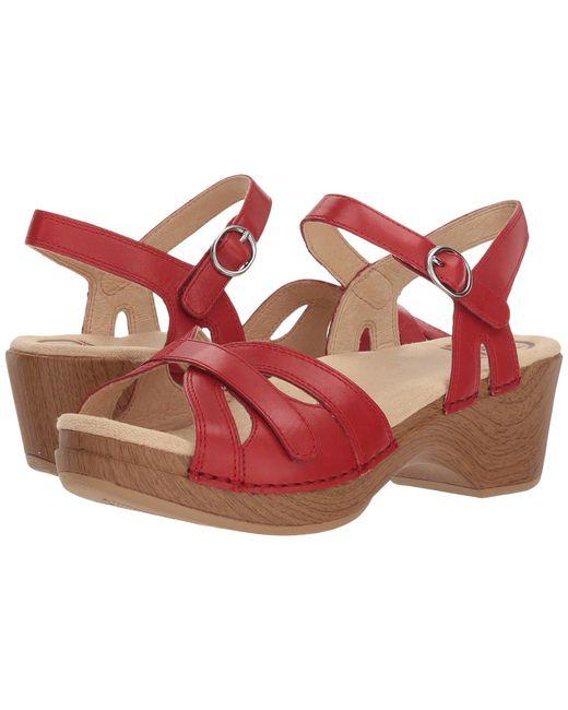 Dansko - Pink Season (camel Full Grain) Women's Shoes - Lyst