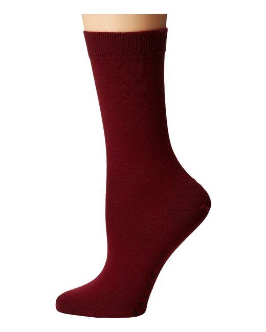 Falke - Purple Soft Merino Sock - Lyst