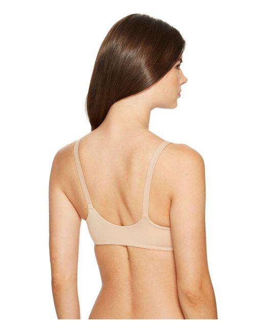 e8ad02874c ... Calvin Klein - Natural Lounge Bra Lightly Lined Wirefree - Lyst ...