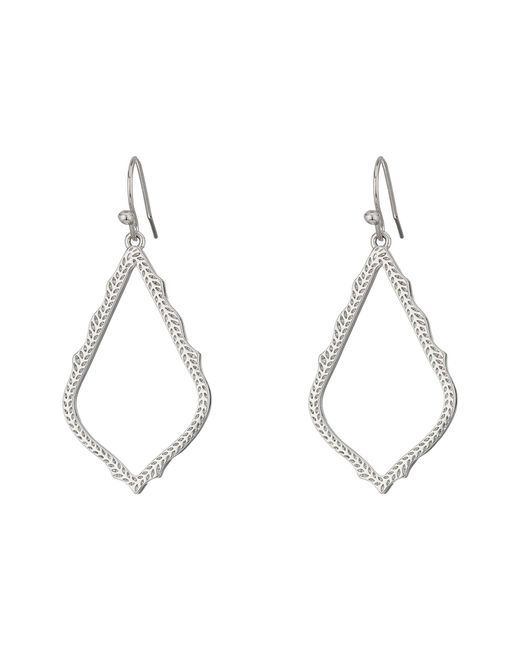 Kendra Scott - Multicolor Sophia Earrings (rhodium/metal) Earring - Lyst