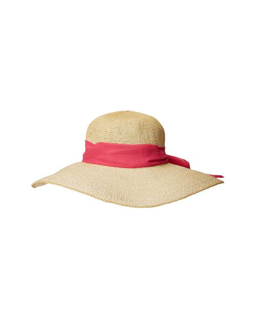 f1116ba3 San Diego Hat Company - Pbl3096os Woven Paper Floppy W/ Scarf Bow Trim  (natural ...