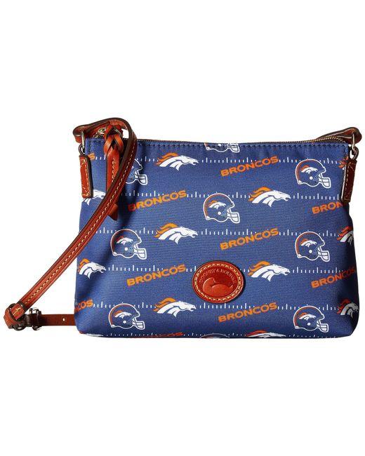 Dooney & Bourke - Blue Nfl Nylon Crossbody Pouchette (red/tan/49ers) Cross Body Handbags - Lyst