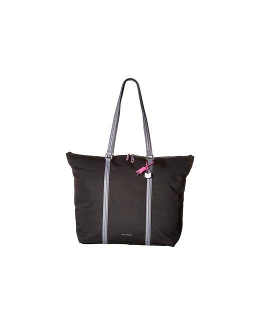 Vera Bradley - Black Midtown Tote (woodland Green) Tote Handbags - Lyst