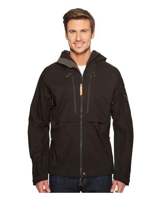 Fjallraven - Black Keb Eco-shell Jacket (dusk) Men's Coat for Men - Lyst
