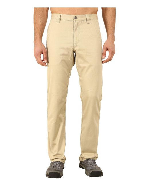 Mountain Khakis - Natural Slim Fit Teton Twill Pant (sand) Men's Casual Pants for Men - Lyst