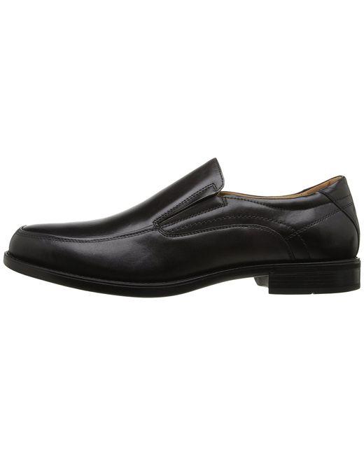 f4310520368 ... Florsheim - Multicolor Midtown Moc Toe Slip-on (black Smooth) Men s  Lace Up ...