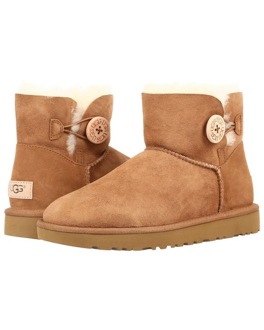 Ugg - Multicolor Bailey Short Button Boots - Lyst
