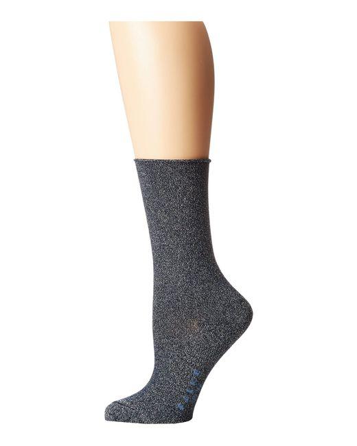 Falke - Blue Shiny Anklet Socks (antelope) Women's Low Cut Socks Shoes - Lyst