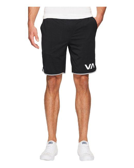 RVCA - Va Sport Shorts Ii (black) Men's Shorts for Men - Lyst