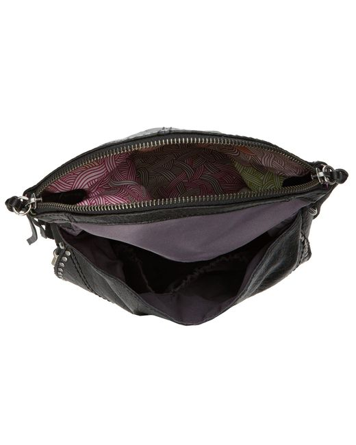 a2ec0c3db55c ... The Sak - Black Silverlake Crossbody (tobacco Floral Embossed) Cross  Body Handbags - Lyst ...
