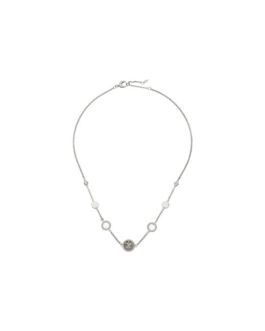Fossil - Metallic Vintage Glitz Multi-station Crystal Necklace - Lyst