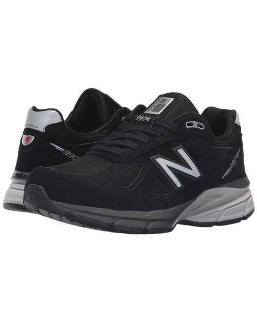 New Balance - Multicolor W990v4 (black/silver) Women's Running Shoes - Lyst