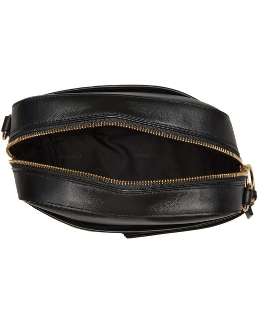 ... COACH - Signature Leather Camera Bag (gold black) Bags - Lyst ... f36fb66e6f327