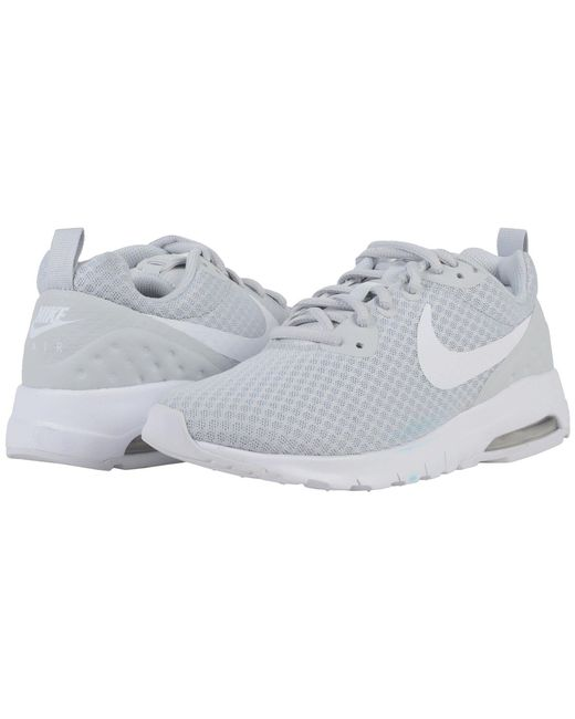 Nike - Gray Air Max Motion Lightweight Lw (white/royal Tint) Women's Shoes - Lyst