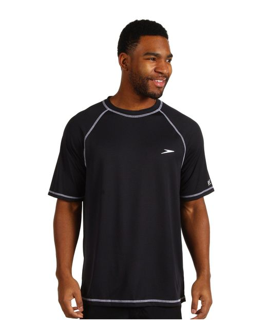 Speedo | Black Easy S/s Swim Tee for Men | Lyst