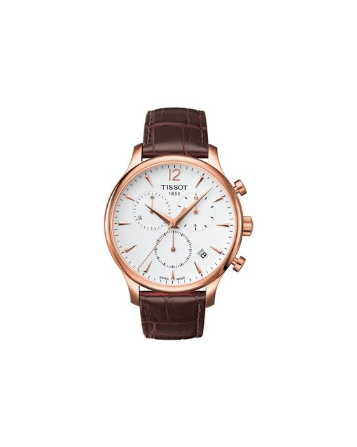 Tissot - Multicolor Tradition Chronograph - T0636173603700 (mother-of-pearl/brown) Watches for Men - Lyst