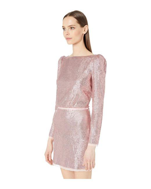 4ba7ed58b4d Lyst - Rachel Zoe Cadence Dress (light Pink) Women s Dress in Pink