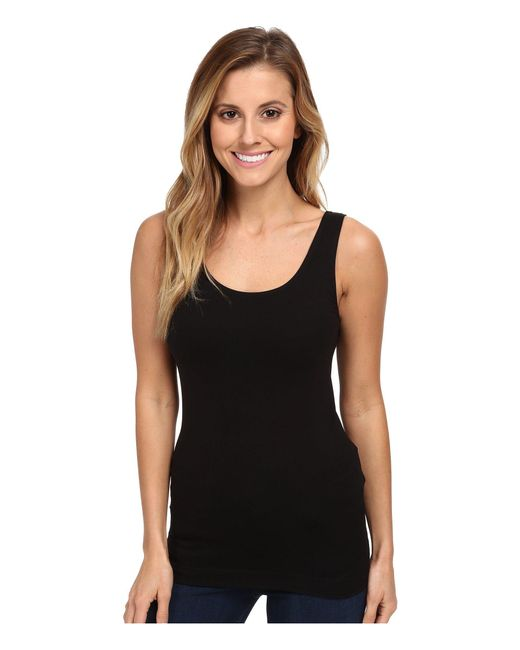 Aventura Clothing - Black Bienne Tank Top (white) Women's Sleeveless - Lyst
