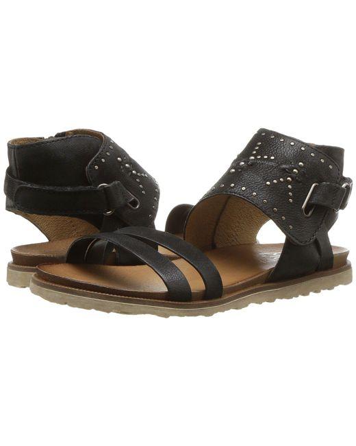 Miz Mooz - Black Tibby (whiskey) Women's Sandals - Lyst