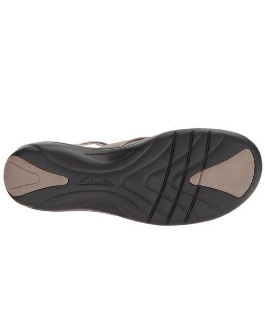 1255a0fad98 ... Clarks - Multicolor Saylie Moon (navy Leather) Women s Sandals ...