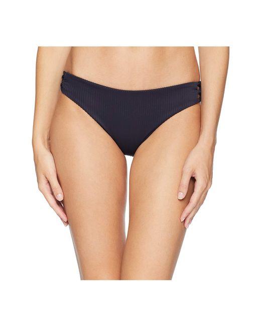 Luli Fama - Blue Costa Del Sol Ribbed Laced Full Bottom (mar De Gibraltar 1) Women's Swimwear - Lyst