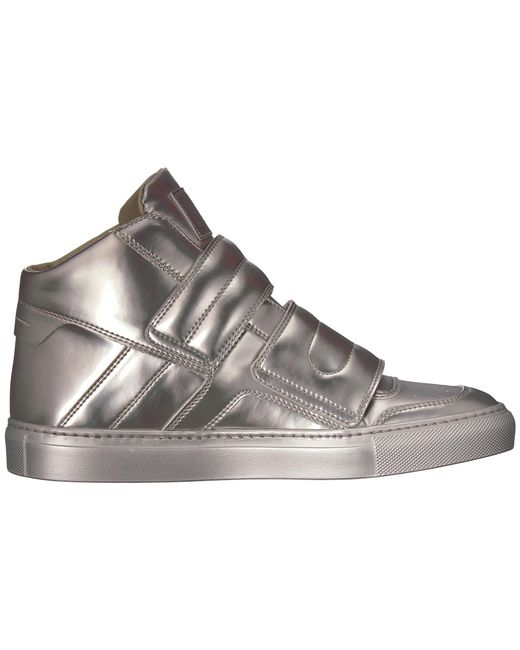 MM6 Maison MargielaBrushed Metal High Top HAYnU
