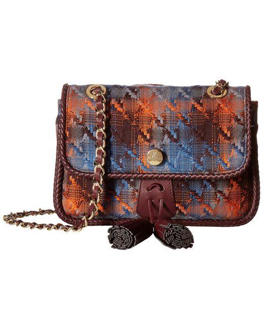 Vivienne Westwood   Gray Winter Tartan Bag   Lyst