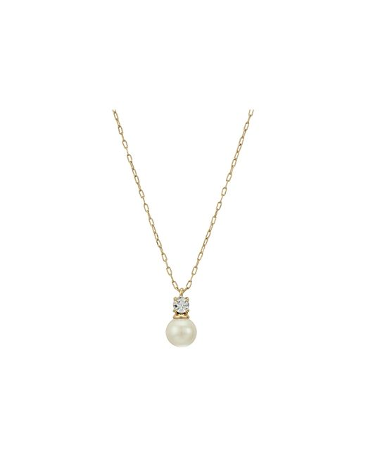 Kate Spade | Multicolor Her Day To Shine Pearl Mini Necklace | Lyst