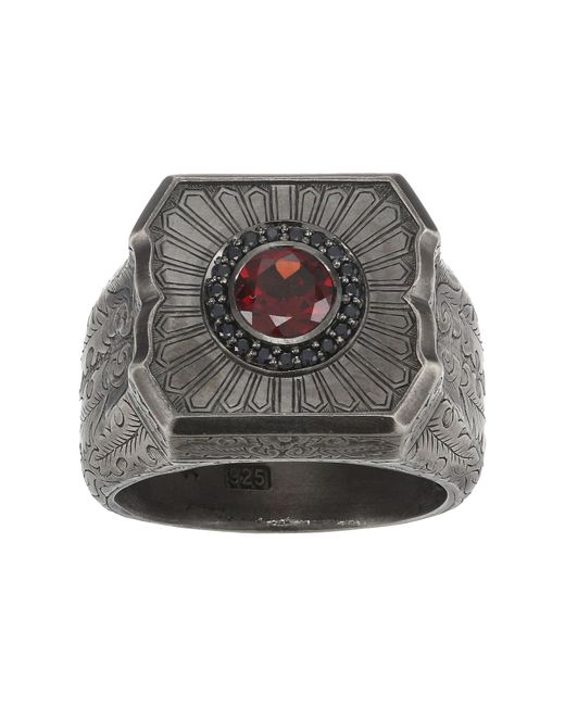 Stephen Webster | Black Large Cigar Leaf Ring for Men | Lyst