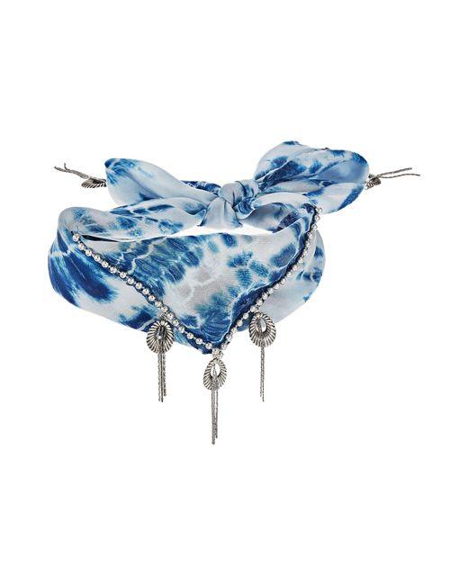 DANNIJO | Blue Adira Necklace | Lyst
