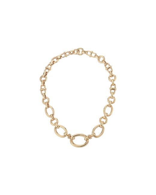 Roberto Coin | Pink 18k Graduated Oval Link Necklace | Lyst