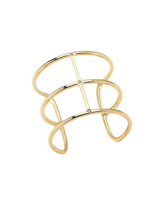 Elizabeth and James | Metallic Mondrian Cuff | Lyst