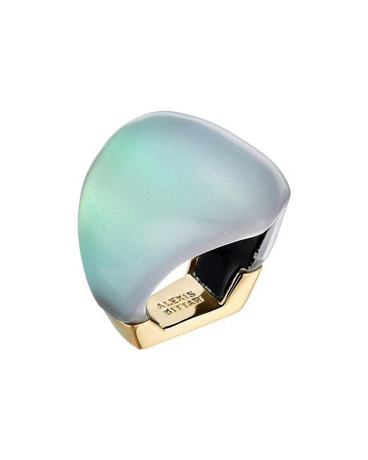 Alexis Bittar   Multicolor Asymmetrical Block Ring   Lyst