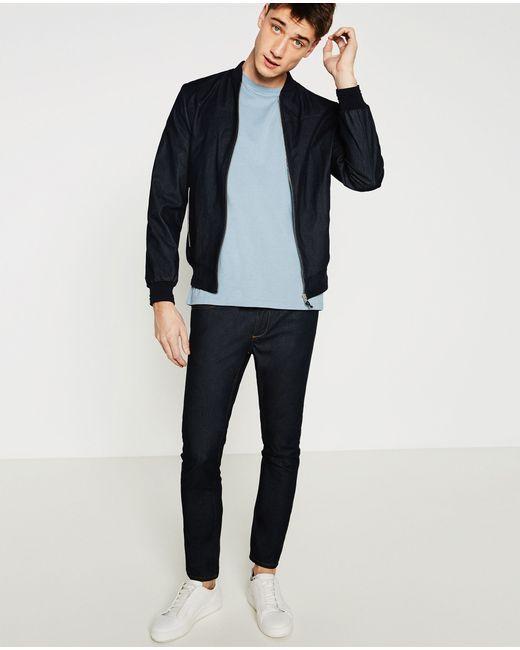 Zara | White Relaxed Fit T-shirt for Men | Lyst