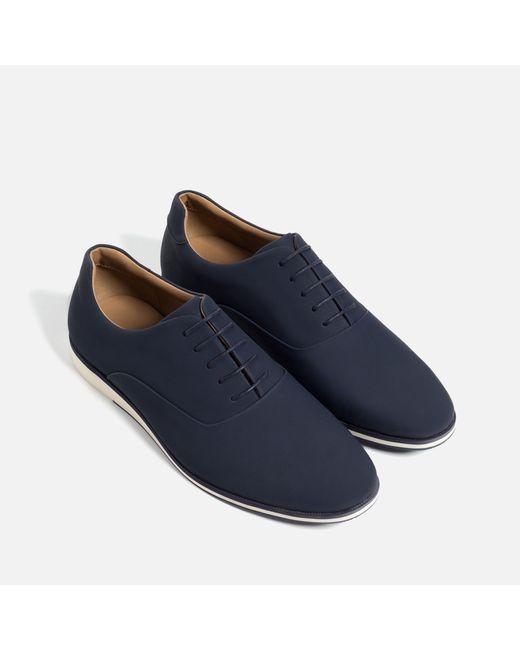 Original Zara Combined Oxford Shoe In Black For Men  Lyst