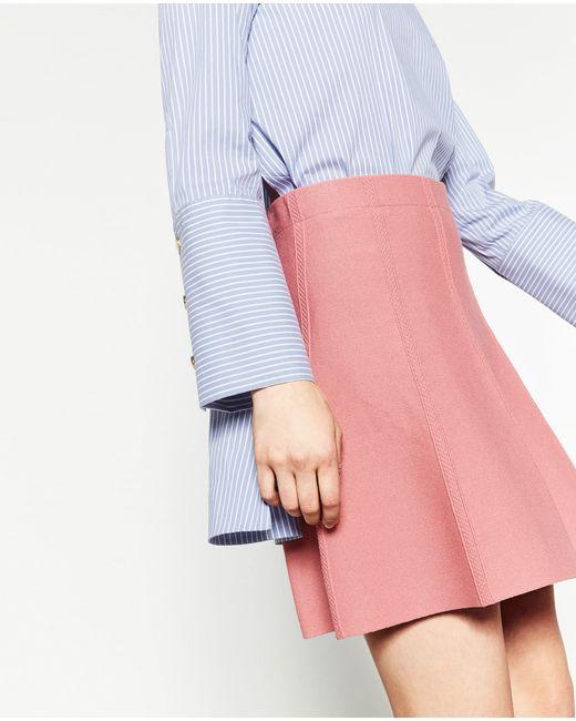 Zara Short Skirt in Pink