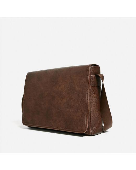 Man Cave Urban Zara : Zara urban crossbody bag in brown for men lyst