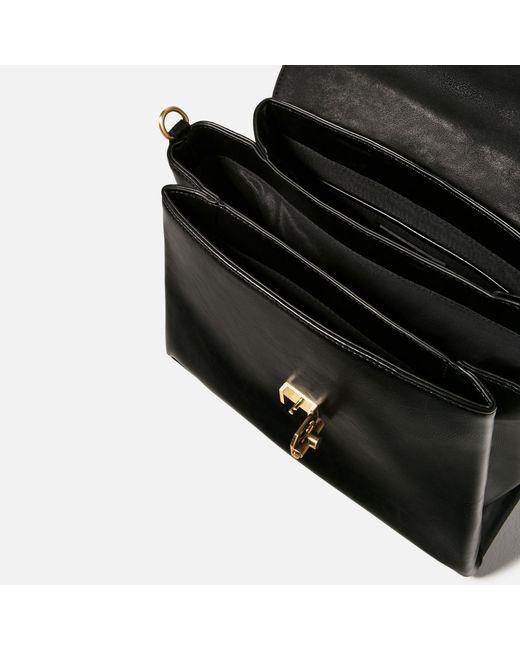 Zara Fabric Handle City Bag Lyst