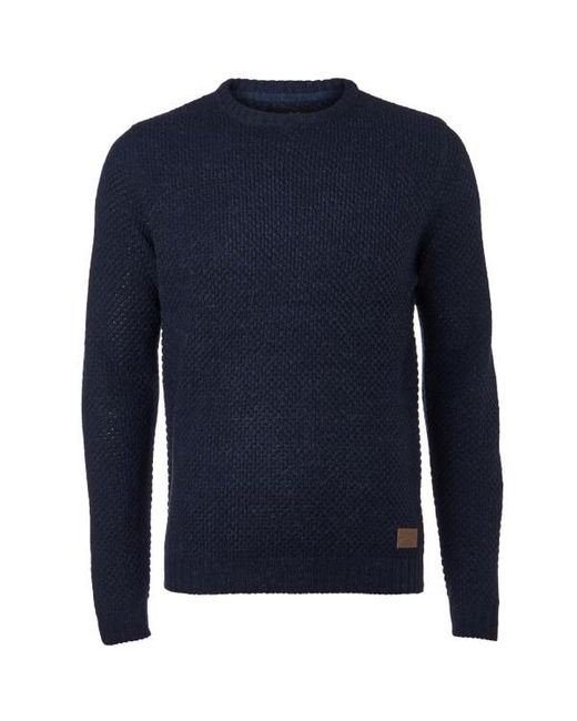 Threadbare - Blue Sedley Crew Neck Jumper for Men - Lyst