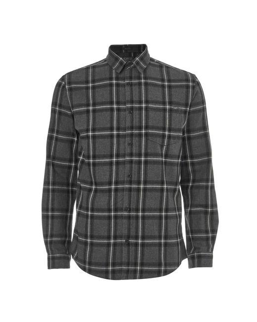 Jack & Jones - Gray Originals Larson Long Sleeve Check Shirt for Men - Lyst