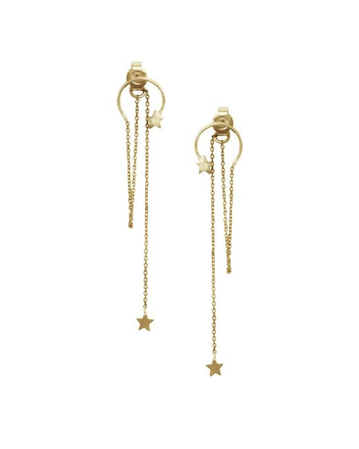 Zimmermann - Multicolor Star Fine Chain Drop Earring - Lyst