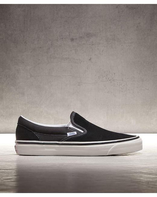 Vans Men's Black Anaheim 47 V Dx Suede Sneakers