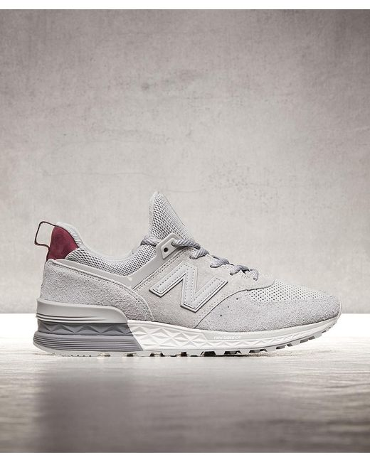 "New Balance Men's Gray Ms 574 Of ""peaks To Streets"""