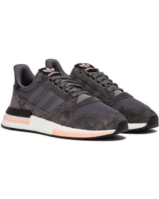 adidas Men's Gray Zx 500 Rm