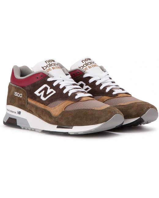 New Balance Men's Brown M 1500 Bgg Made In England