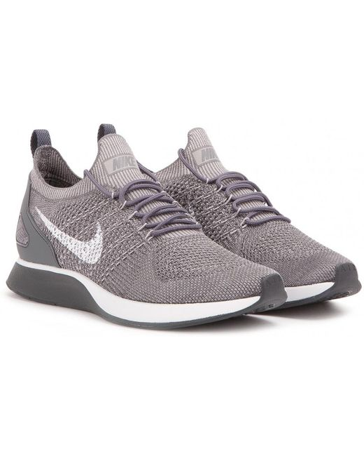 Nike Men's Green Air Zoom Mariah Flyknit Racer