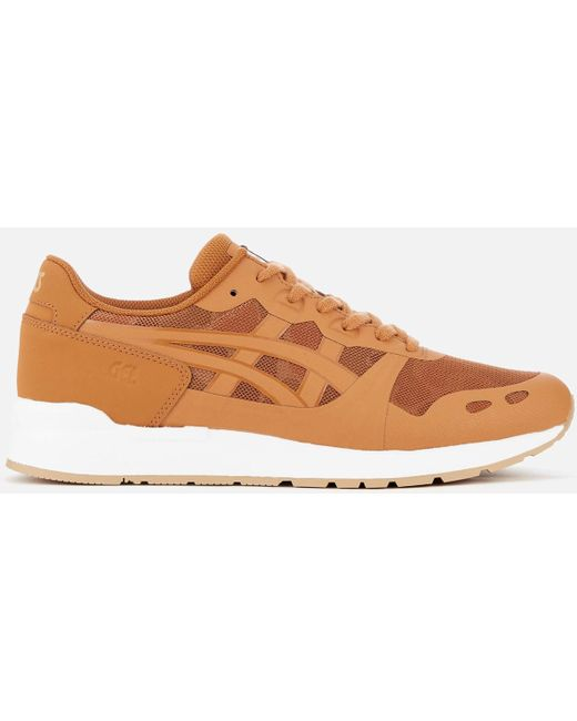 Asics Men's Brown Gel-lyte Ns Mesh Trainers