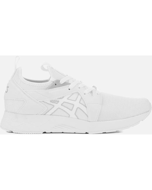 Asics Men's White Lifestyle Gel-lyte V Rb Trainers