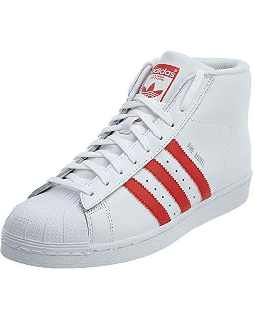 adidas Originals Men's White Adidas Matchcourt High