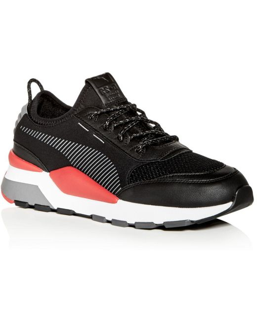 PUMA Gray Men's Ignite Limitless Sr Evoknit Lace Up Sneakers